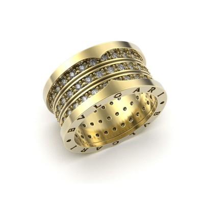 Восковка кольцо Булгари 9291