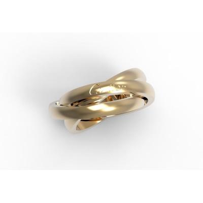 Восковка кольцо Картье 9296