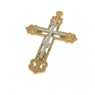 Восковка крест 9309