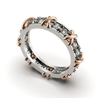 Восковка кольцо Тиффани 9312