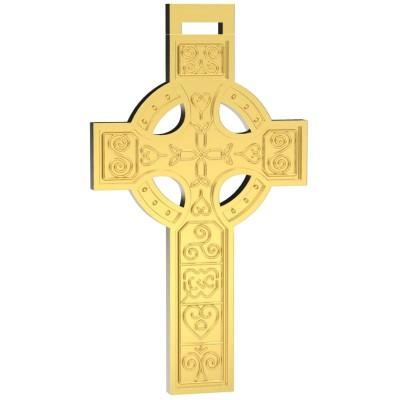 Восковка крест 9371