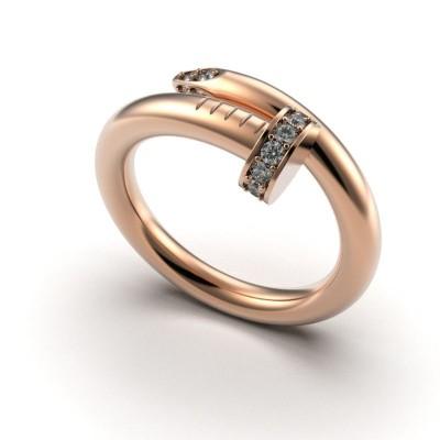 Восковка кольцо Гвоздь Картье 9426