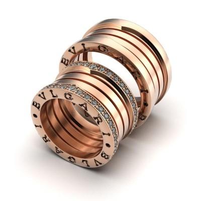 Восковка кольцо Булгари 9486