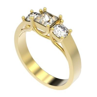 Восковка кольцо 9669