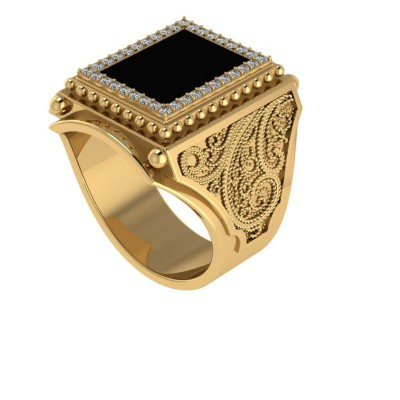 Восковка кольцо 9719