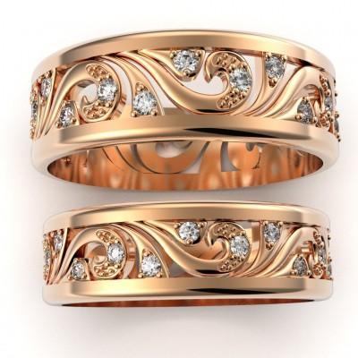 Восковка кольцо 9865