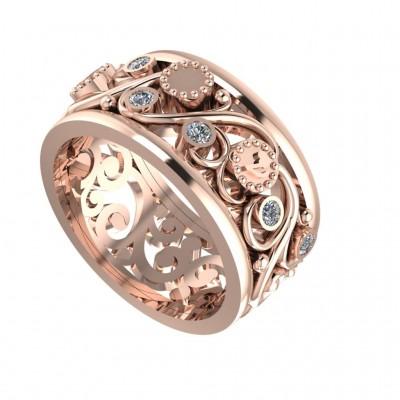 Восковка кольцо 9949