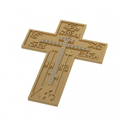 Восковка крест 9990