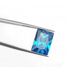 Багет Цирконий Лондон Blue 10 х 12 мм