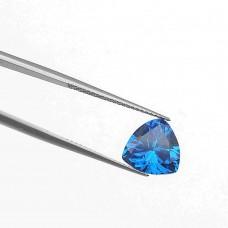Триллион Цирконий Лондон Blue 7 х 7 мм