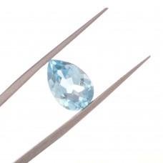 Капля SWISS Топаз London Blue 12 x 8 мм