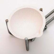 Тигель толстостенный керамика № 1А D 53 H 20