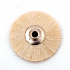 Щетка волосяная мягкая белая б/д d- 25 mm