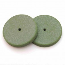 Резиновый круг мягкий для обработки металлов D 22 мм