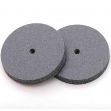 Круг резиновый средней грубости для обработки металлов D 22 мм