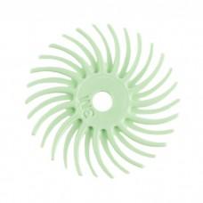 Щетка 3М ультра мягкая полировальная пластиковая, d-19 мм, зеленая