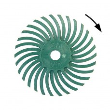 Щетка 3М мягкая полировальная пластиковая, d-19 мм, зеленая