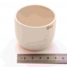 Тигель фарфоровый 50 ml D 50 mm x H 44 mm