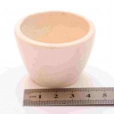 Тигель фарфоровый № 2 D 43 mm x H 30 mm