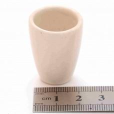 Тигель фарфоровый № 4 D 19 mm x H 30 mm
