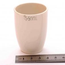 Тигель фарфоровый № 3 50 ml D 38 mm x H 56 mm