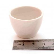 Тигель фарфоровый № 7 D 31 mm x H 21 mm