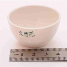Тигель фарфоровый № 8 18 ml D 41 mm x H 20 mm