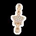 Восковка браслет звезда с\к 8220.1