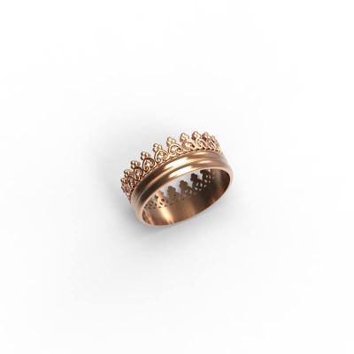 Восковка кольцо корона И10637
