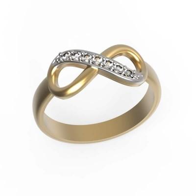 Восковка кольцо бесконечность И10884