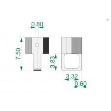 Восковка чокер И7746 D 3 mm